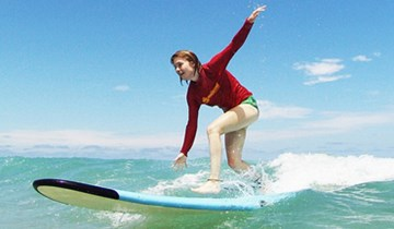 "Jobs & Travel / Pack ""Oz Surf, Camp & Play"" Sydney"