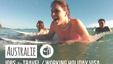 (vidéo) Working Holiday Visa en Australie