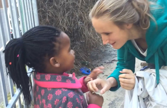 (vidéo) Volunteering project in Capetown - Aline