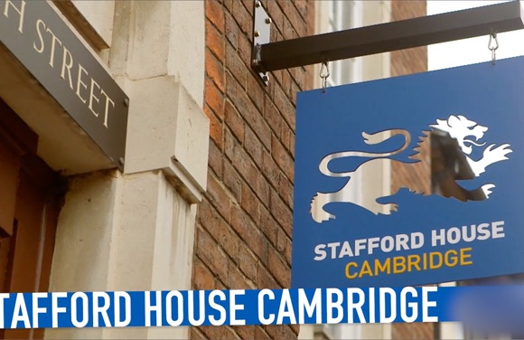 (vidéo) Stafford House Cambridge